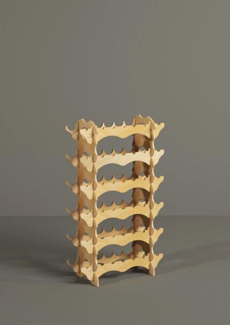 Espositori Amici Atos - Espositori in legno a incastro